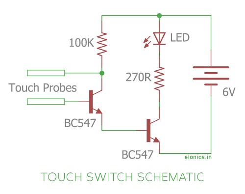small resolution of simple touch switch schematic wiring diagram site simple switch schematics