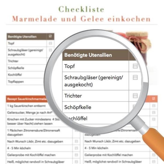 Kchen Checkliste Cheap Gemtlich Checkliste Fr Die
