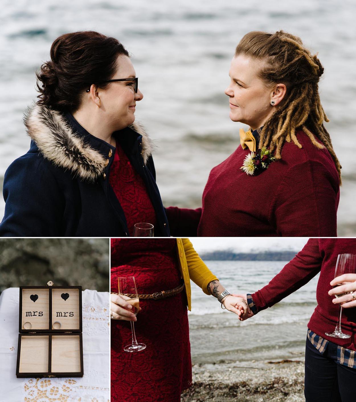 New Zealand same sex wedding