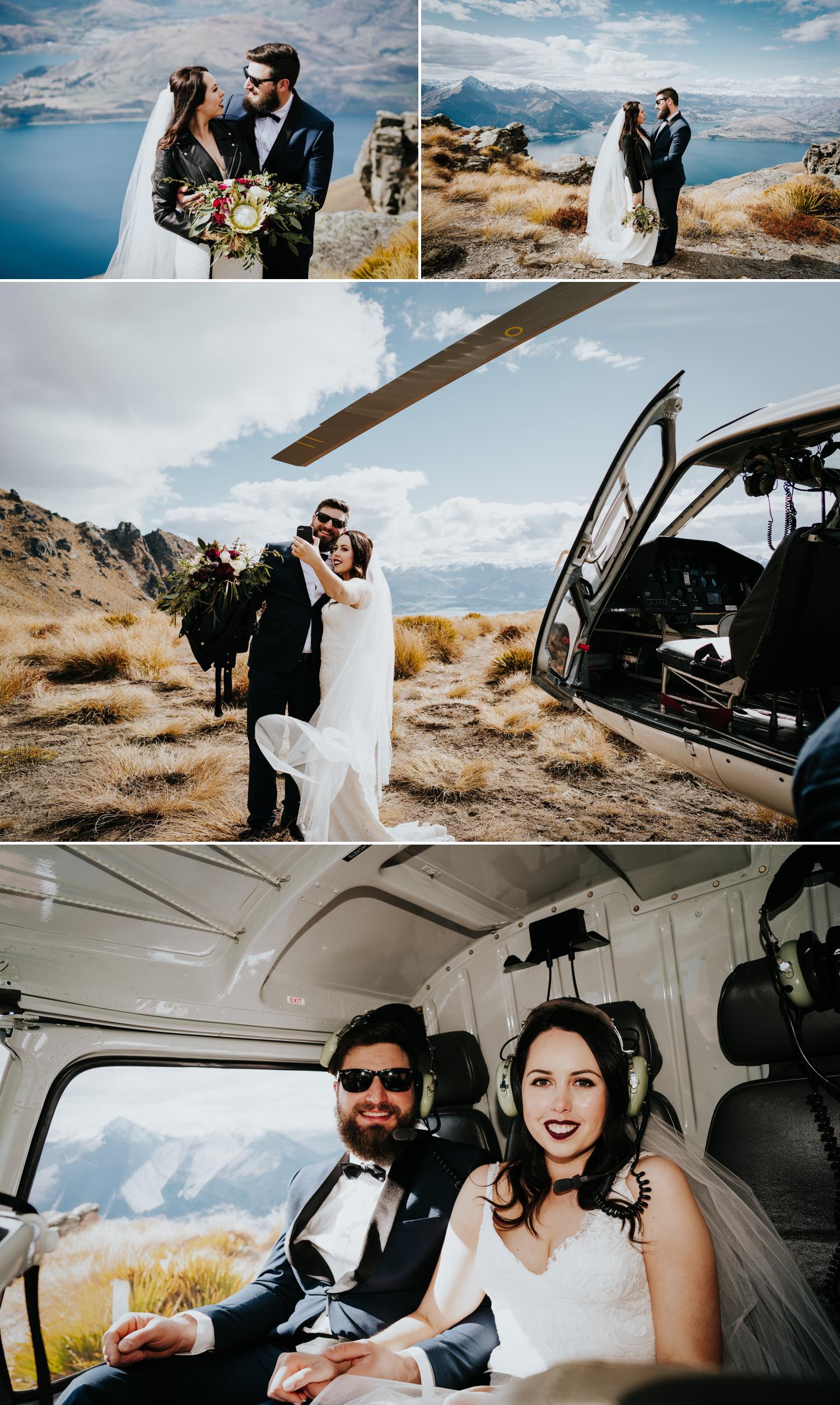 Queenstown mountain wedding planner