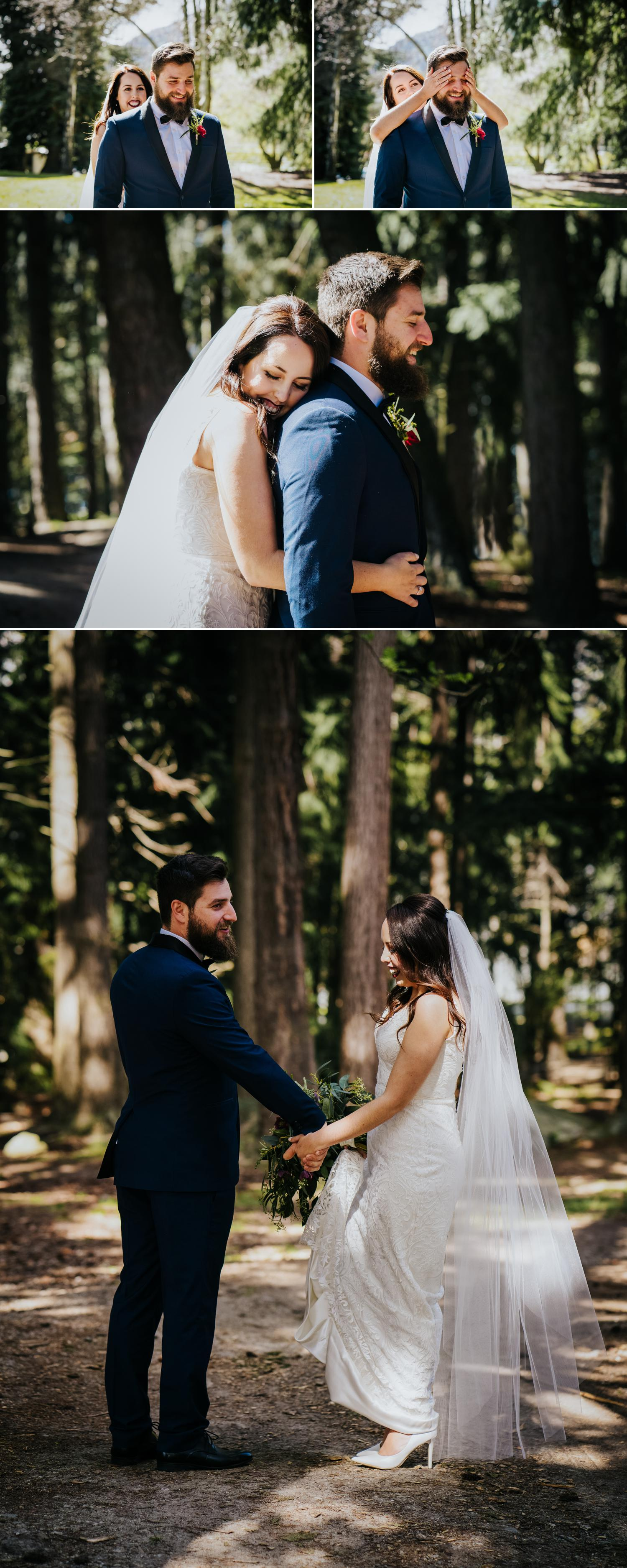 Queenstown gardens wedding photography