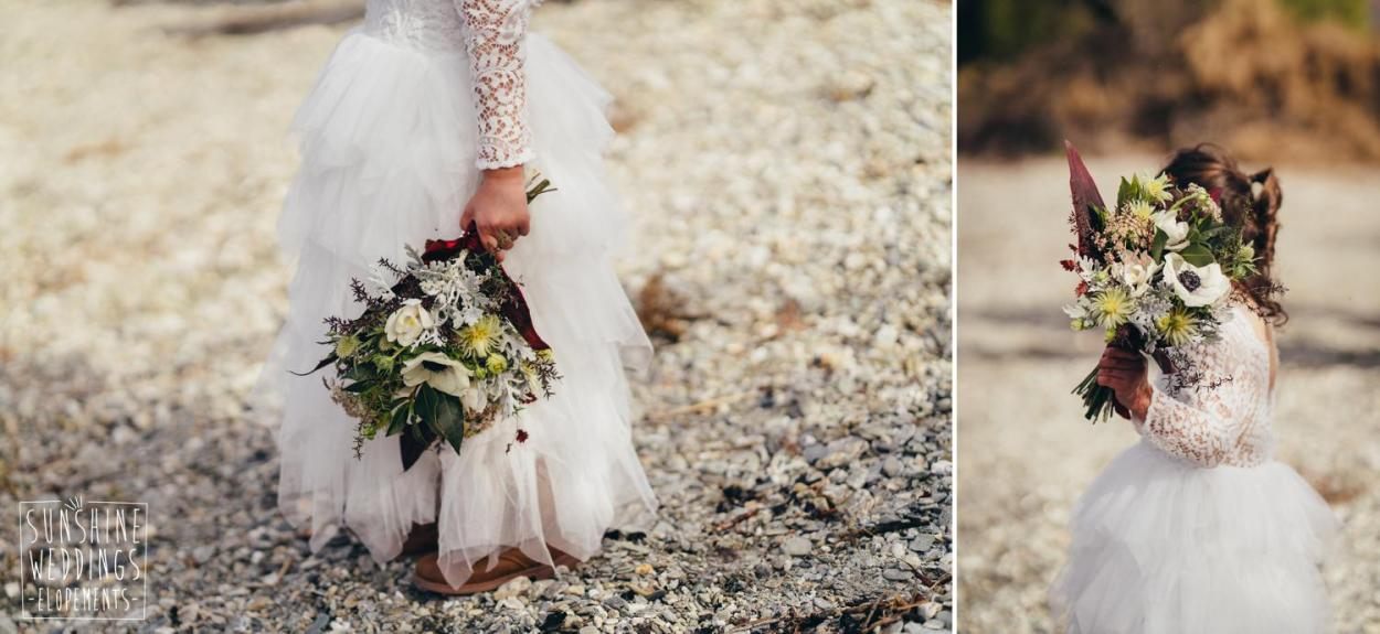 flower girl Queenstown wedding photographer