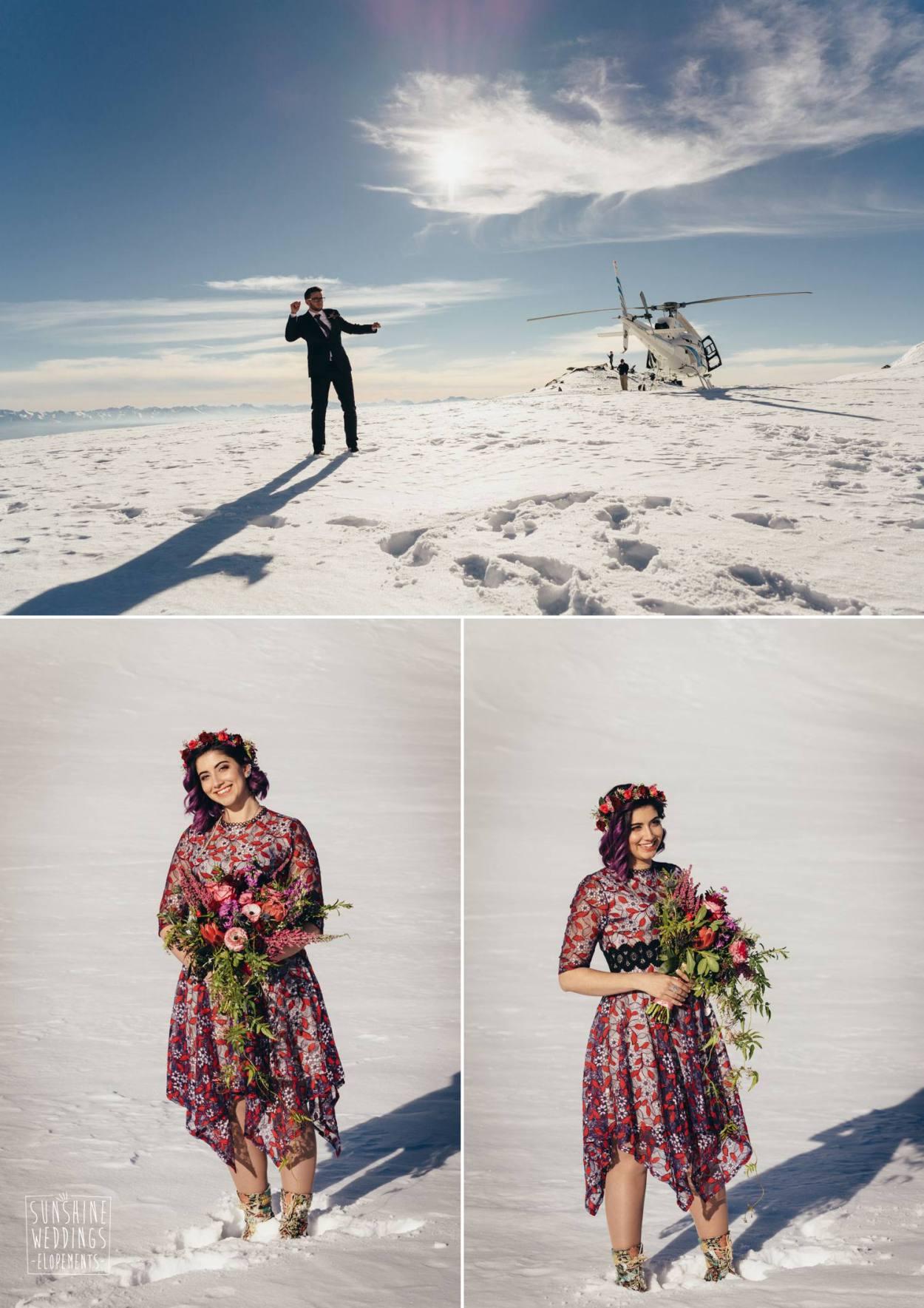 winter elopement New Zealand