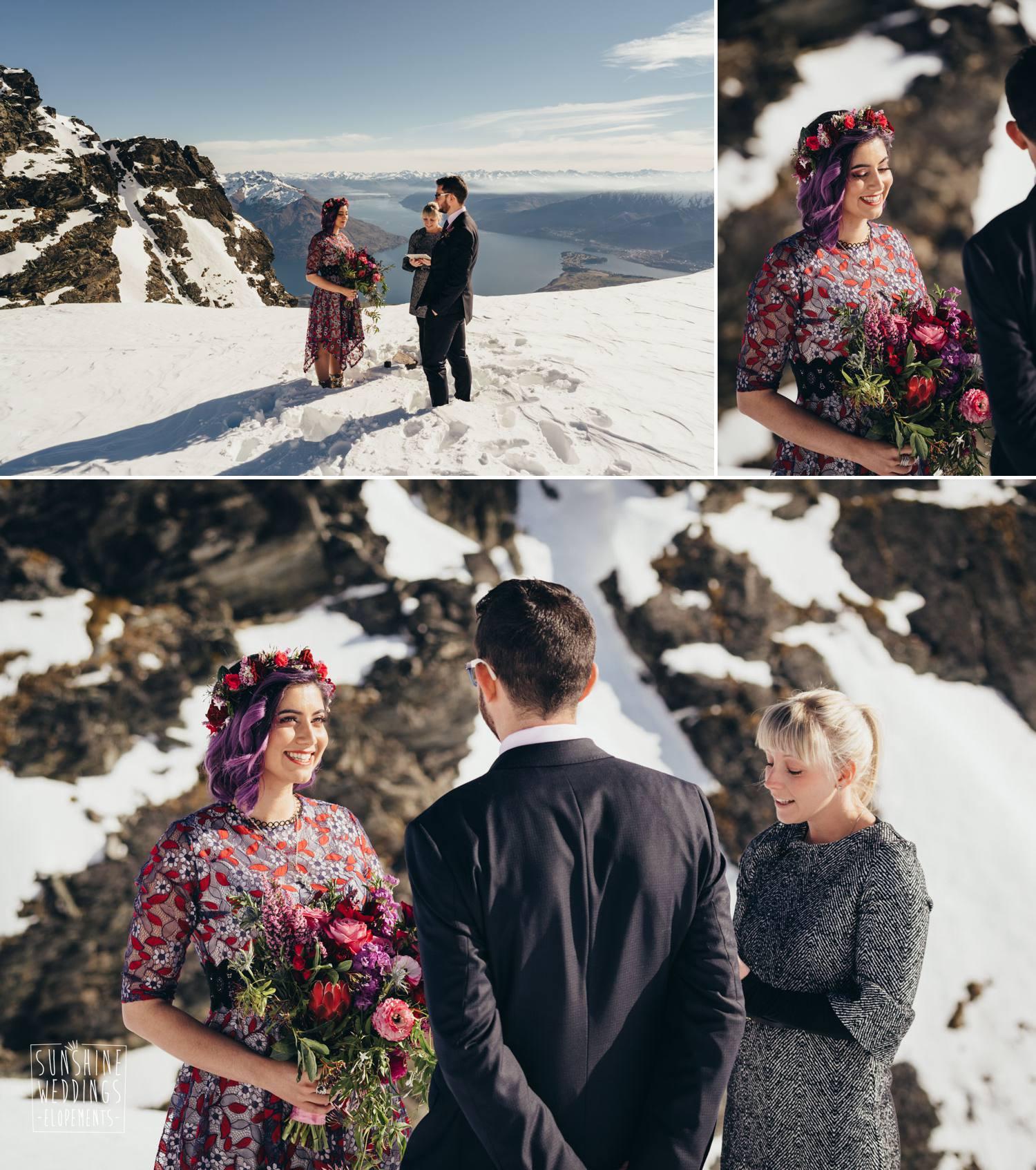 Double Cone wedding ceremony
