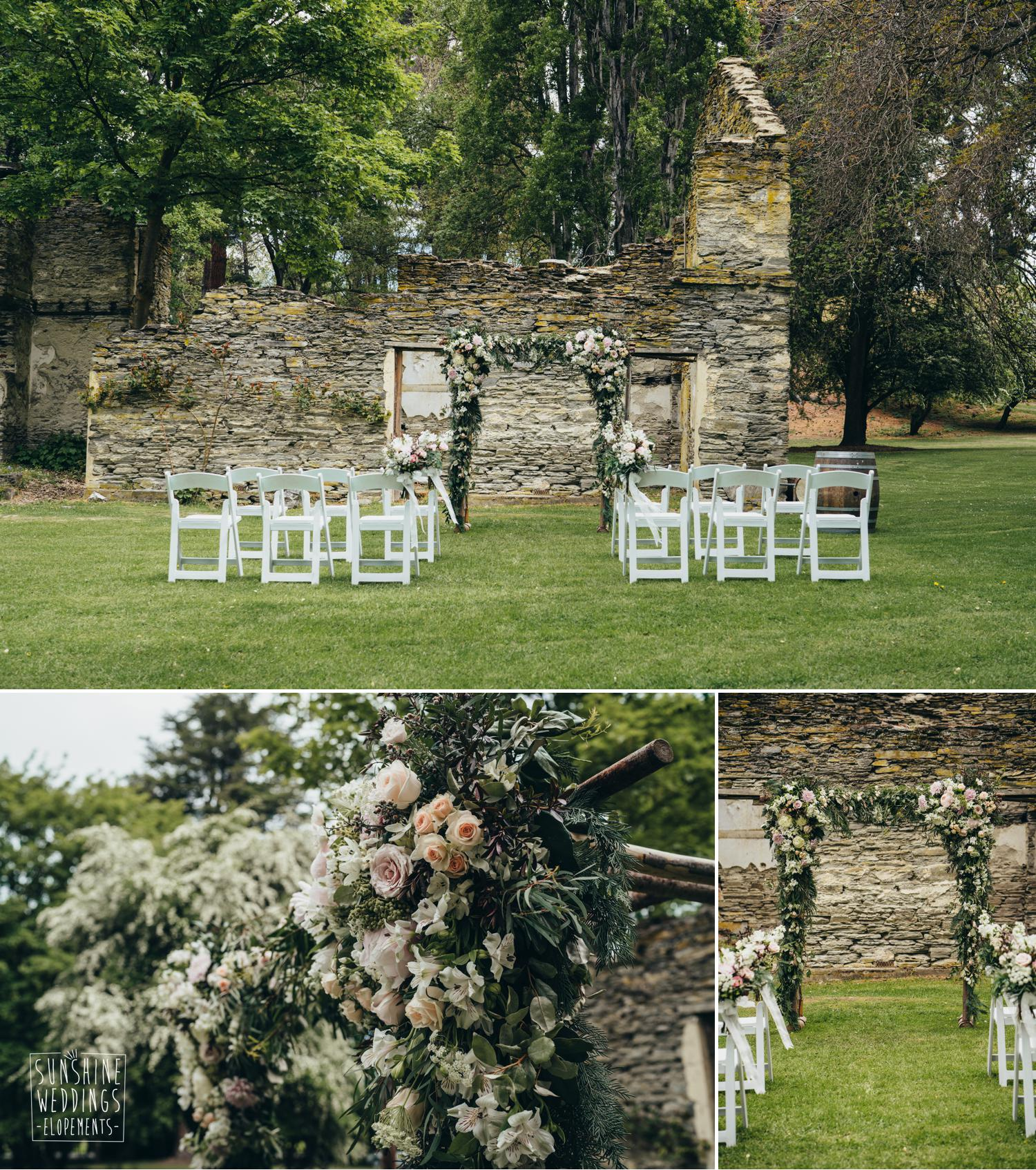 Thurlby Domain wedding