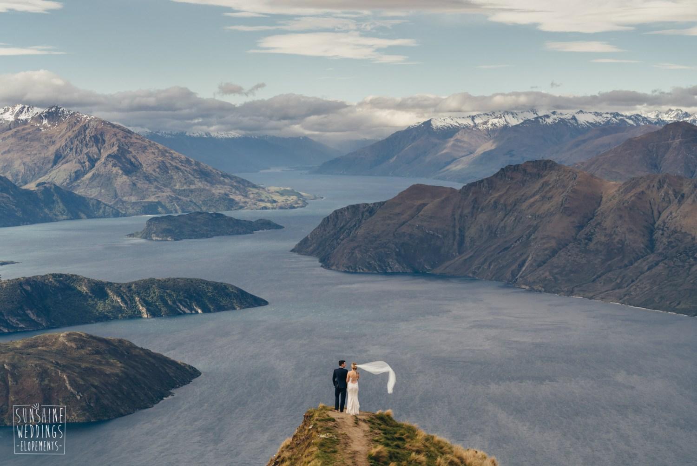 Wedding Coromandel Peak Lake Wanaka