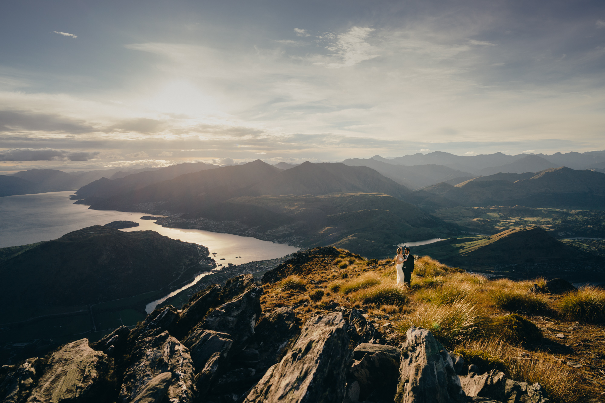 Queenstown elopement wedding planner / The Remarkables heli wedding