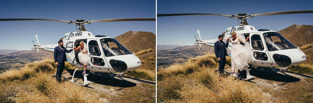 Heliworks helicopter on Coromandel Peak