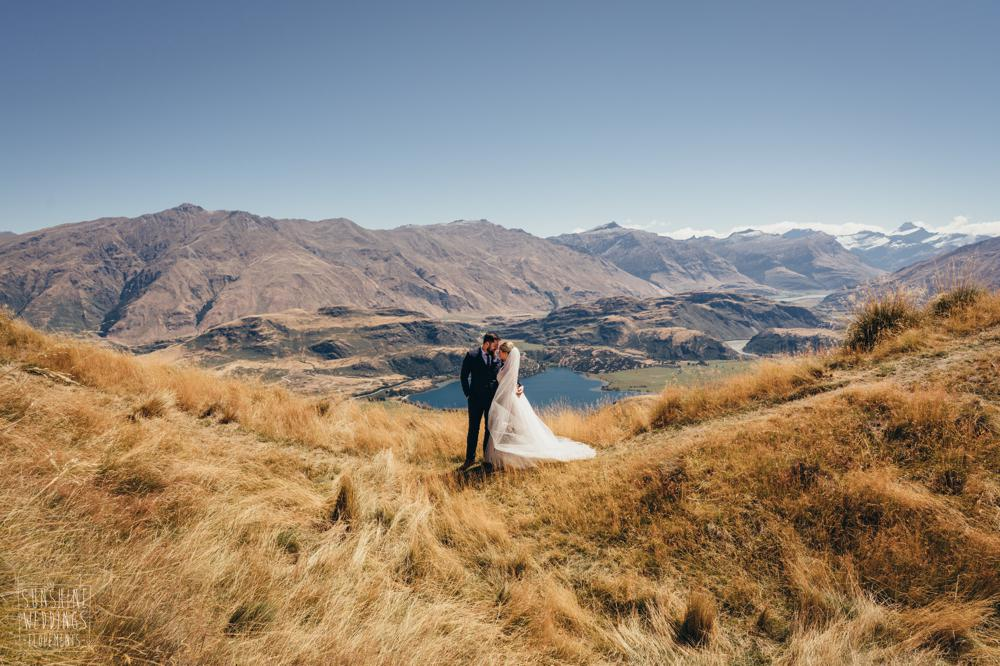 A coromandel peak wedding in Wanaka