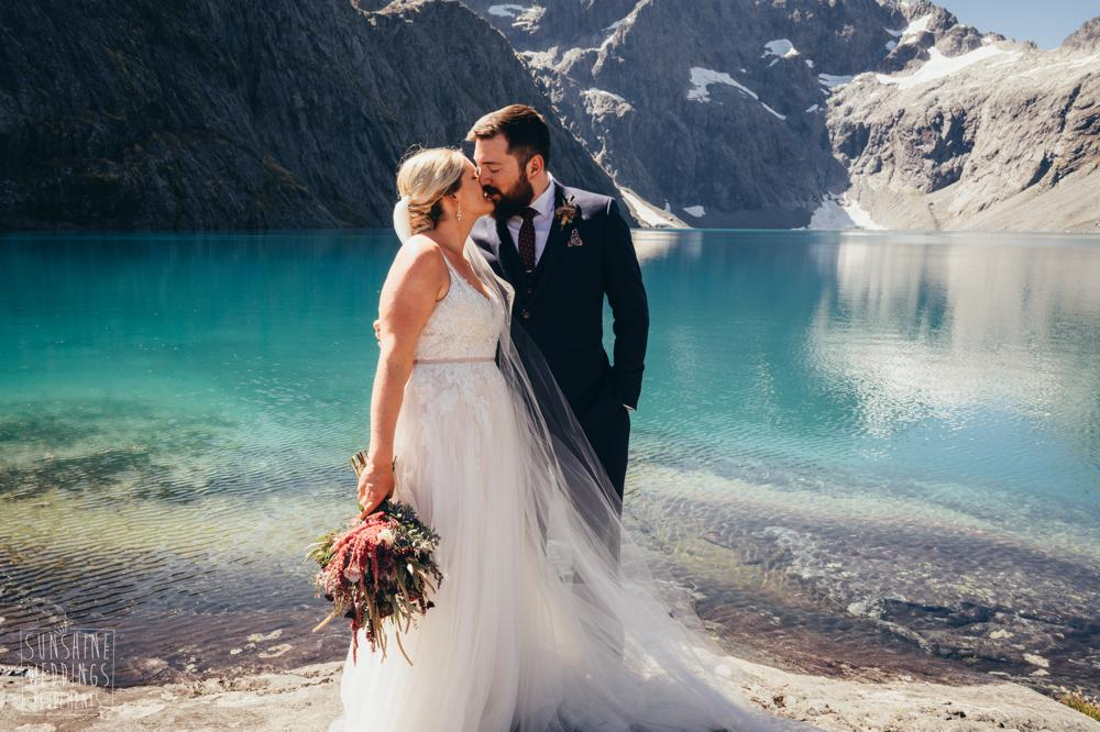 Best mountain lake wedding Queenstown