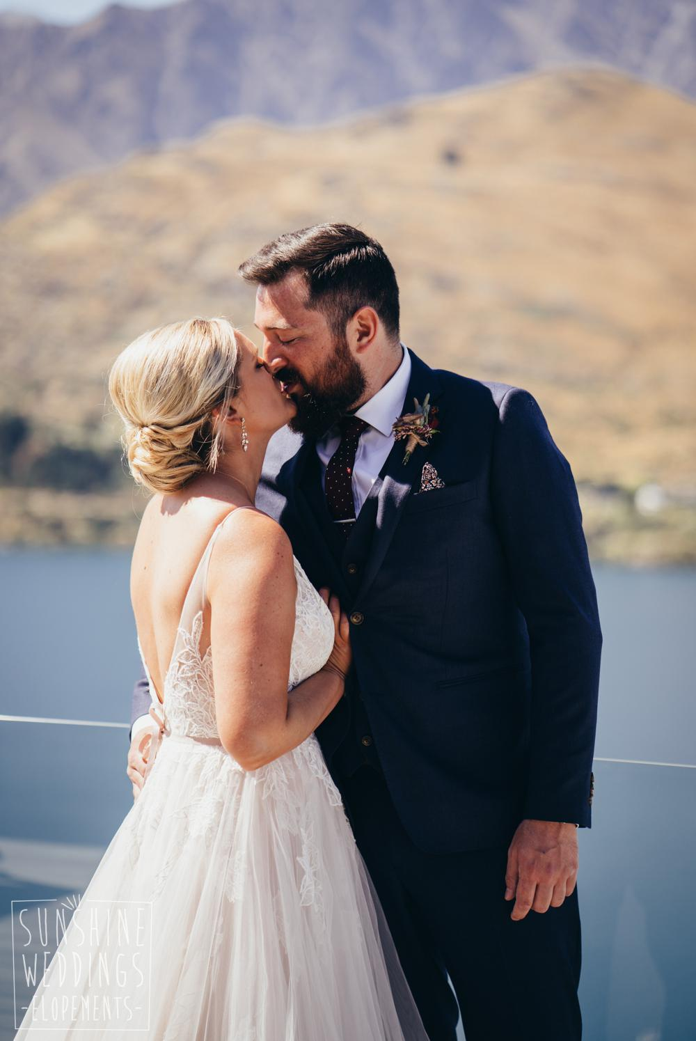 Elopement in Queenstown before ceremony