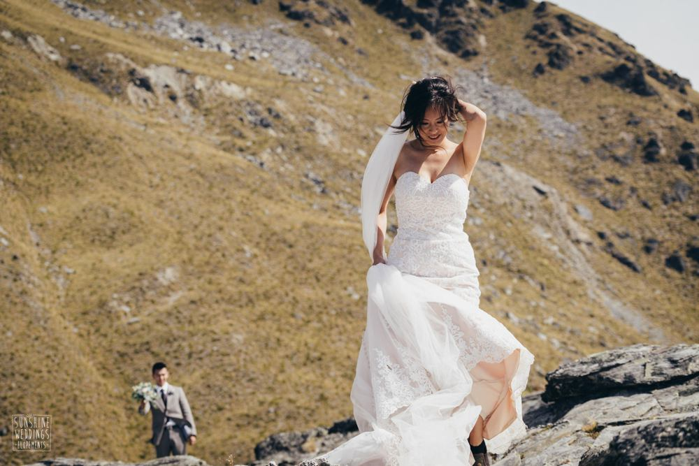 rock n roll mountain bride and boots