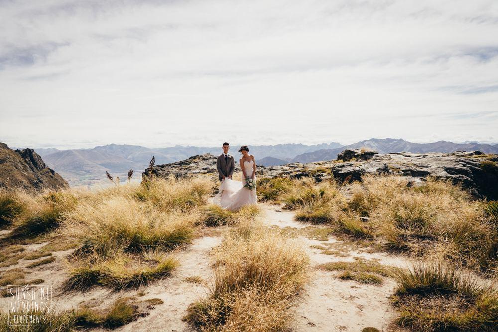 The Ledge at Cecil Peak popular wedding location
