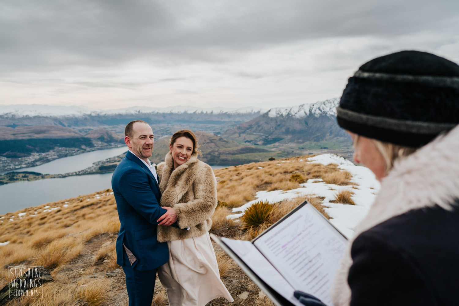 elopement on Queenstown mountain