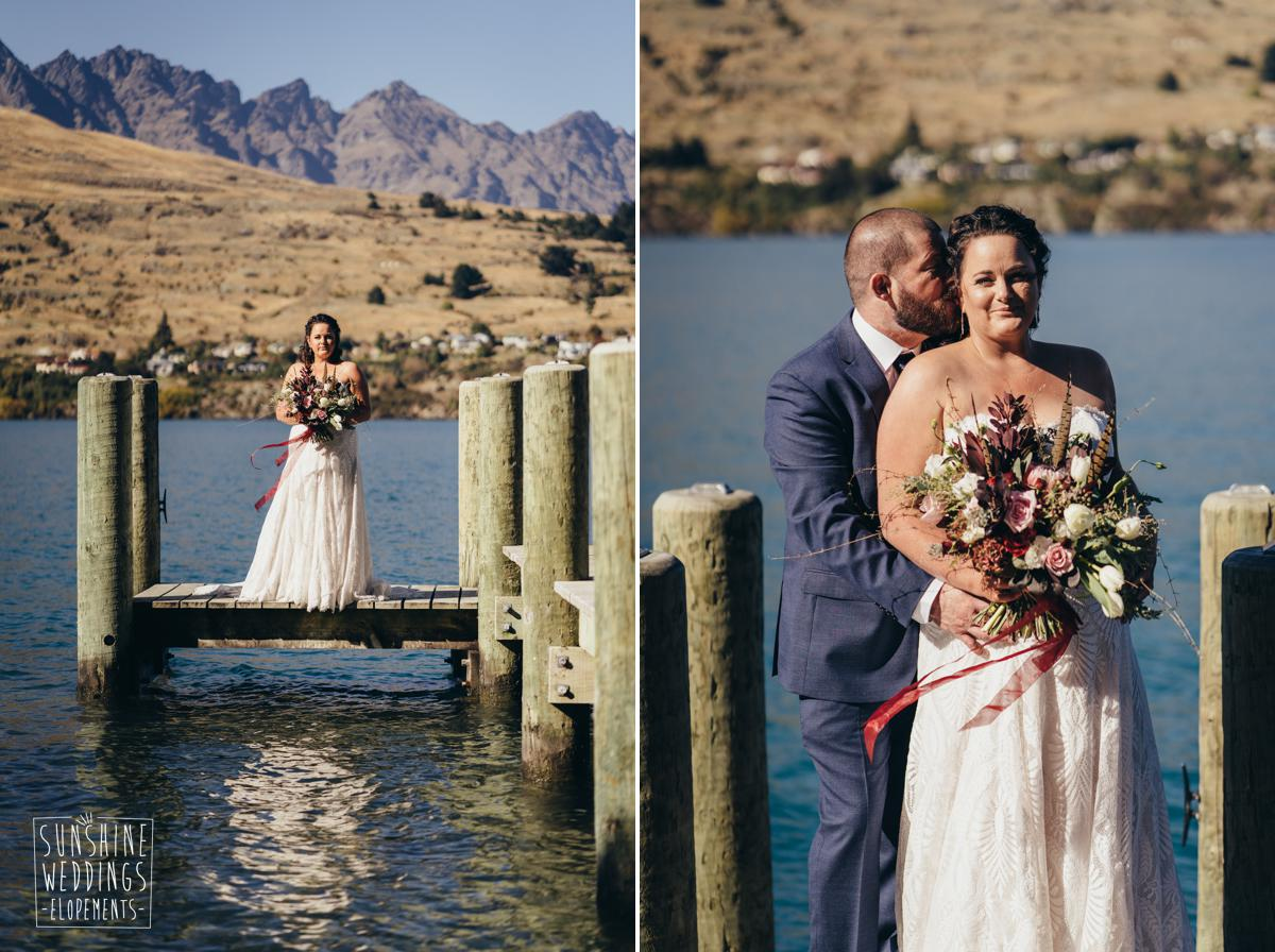 Lake Wakatipu wedding photography