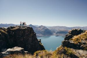 The Ledge family elopement wedding Queenstown