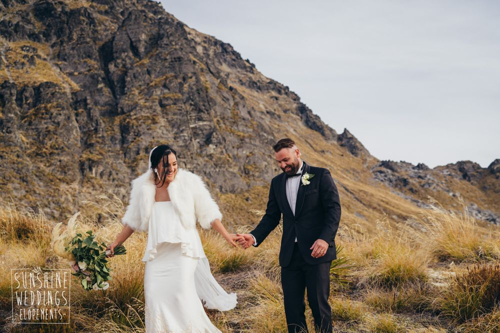 Mountain wedding photography Queenstown