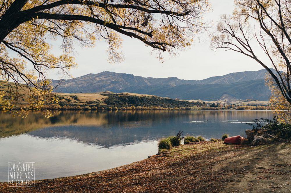 Lake hayes wedding location