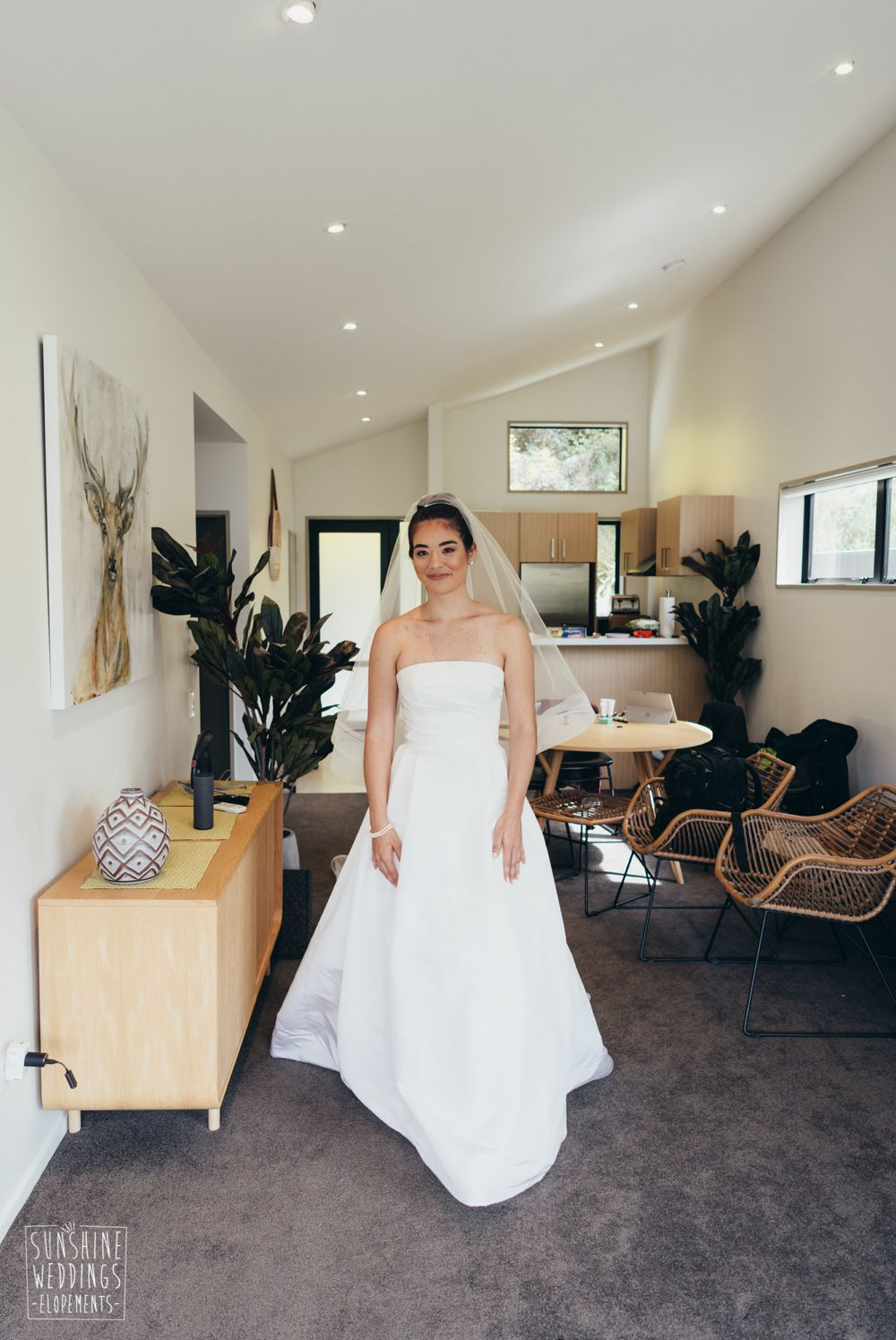 Bride first look Queenstown