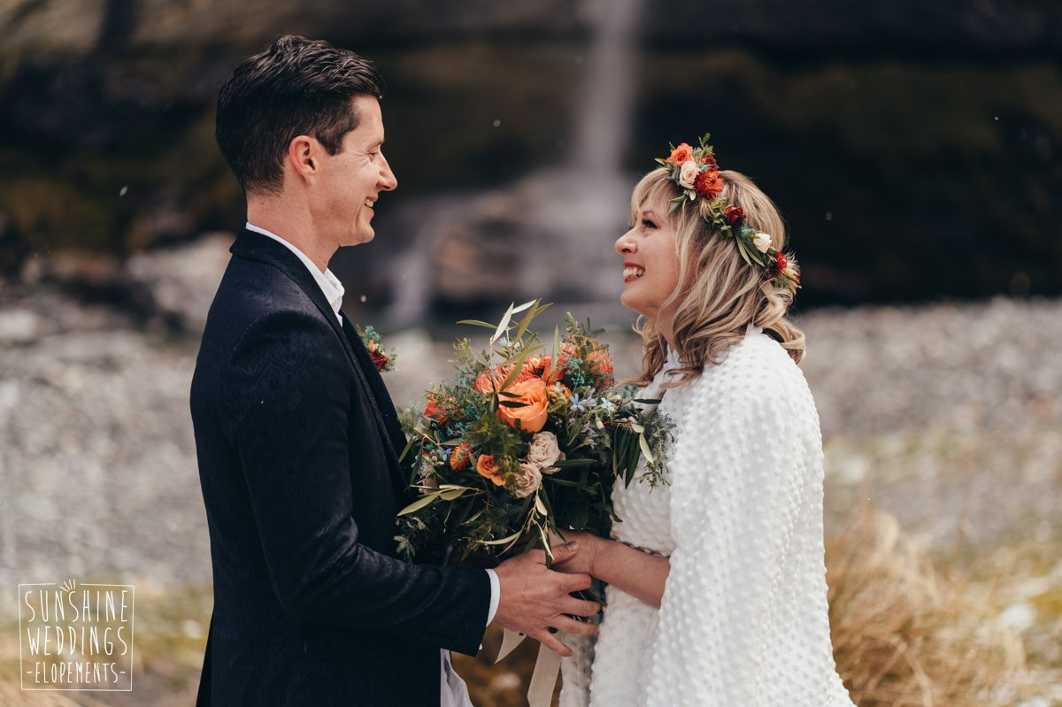 earnslaw burn wedding