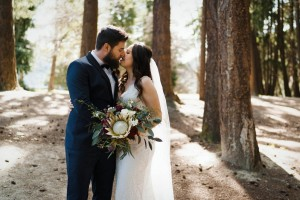 New Zealand forest wedding