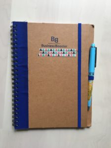 Carnet de note Business Booster