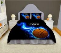 Boys Basketball Personalized Comforter Set, Sports Bedding ...