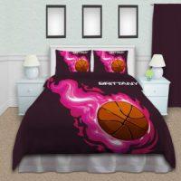 Sport Themed Boys Duvet Cover, Kids Comforter Set with ...