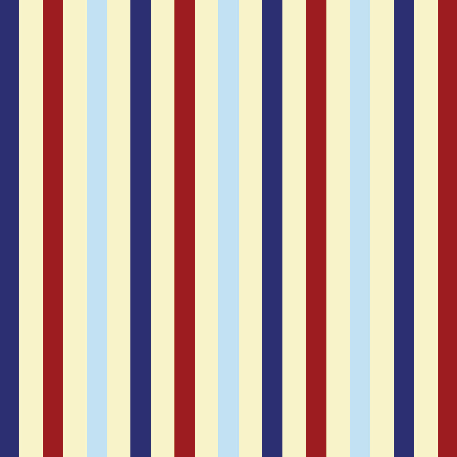 Vertical Striped Navy Blue Red and Beige Curtain Panels 151  Eloquent Innovations