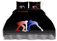 Wrestling Bedding Set - Blue & Red - Wrestling Comforter ...