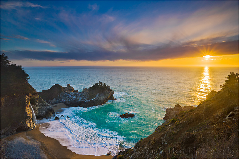 Fall Scenes Computer Wallpaper Sunset Mcway Fall Big Sur Eloquent Images By Gary Hart