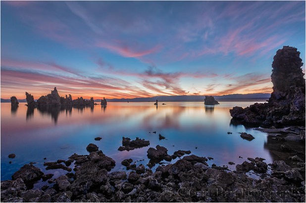 Daybreak, South Tufa, Mono Lake