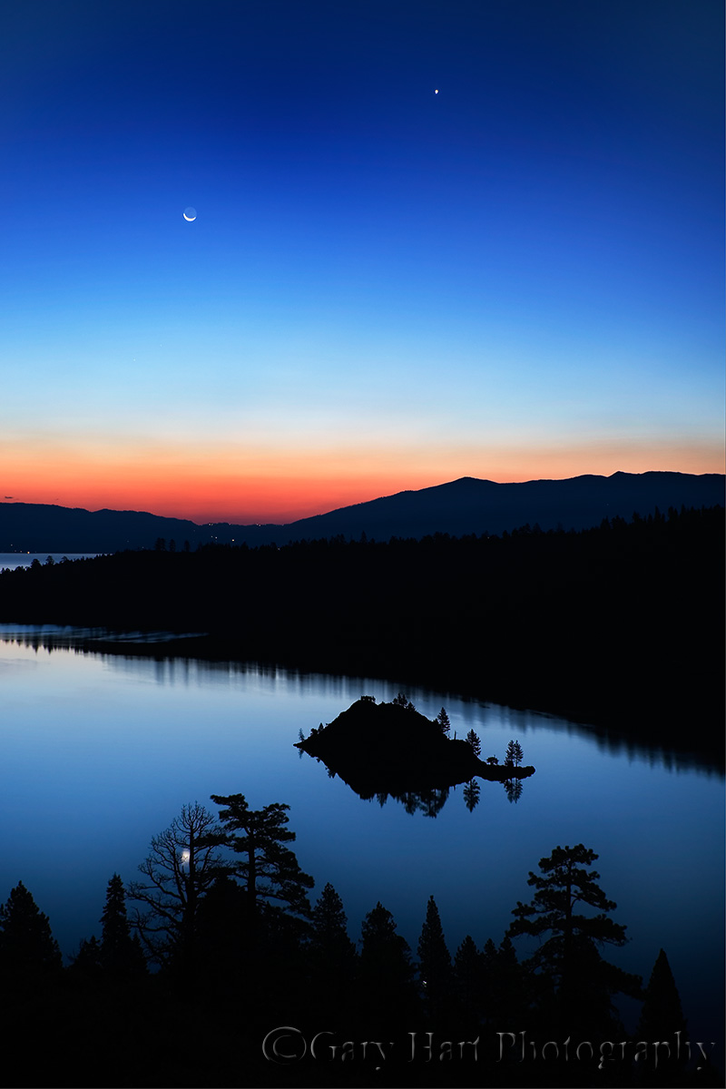 Crescent Moon Eloquent Nature By Gary Hart