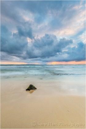 Clouds at Sunrise, Kauai, Hawaii
