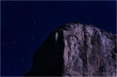 Gary Hart Photography, Cassiopeia Above El Capitan, Yosemite