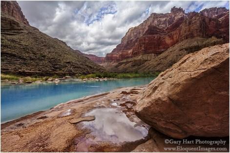Reflection, Little Colorado River, Grand Canyon