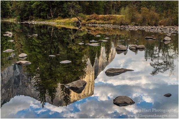 Gary Hart Photography: Rocks and Reflection, El Capitan, Yosemite