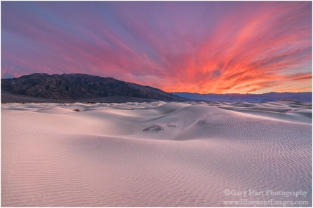 Gary Hart Photography: Flaming Dunes, Mesquite Flat Dunes, Death Valley