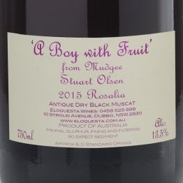 A Boy With Fruit 2015 Dry Rose