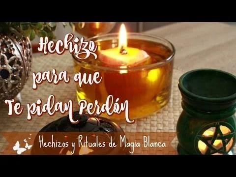 Hechizo para que te pidan Perdón ~ Los Rituales de Margui