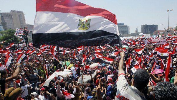 El retroceso de Egipto