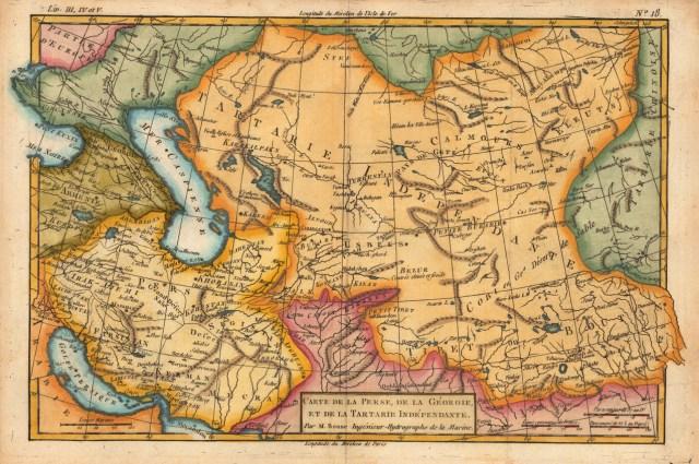 Asia central, geoestrategia en el centro del mundo