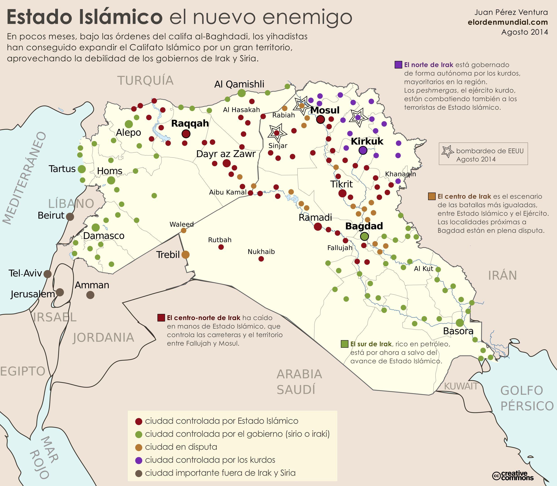 Resultado de imagen de bases guerrilleras yihadistas