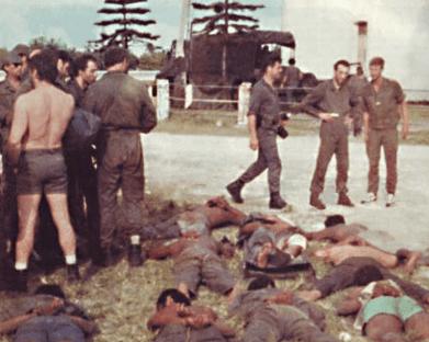 """Imagen del desenlace de la """"Operación Victor"""""""