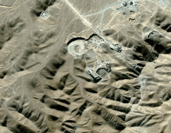 Vista Planta de Enriquecimiento de Uranio en Qom. Fuente: BBC World, Middle East (Marzo 2015)