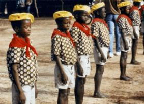 Pioneers de la revolución, Burkina Faso 1984