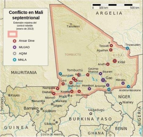Enero 2013 rebelión Malí - Wikipedia