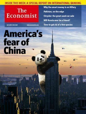 Estados Unidos - China - Poder - Portada The Economist