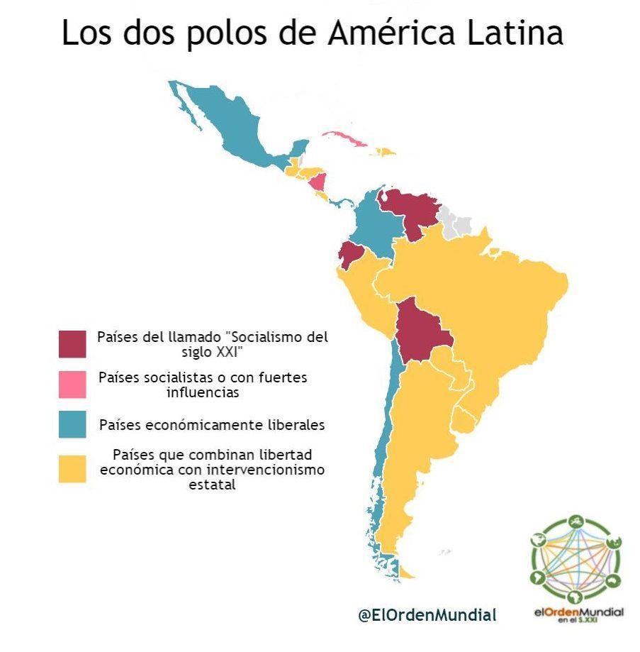 Amrica Latina en 2016 termin la hegemona de la izquierda