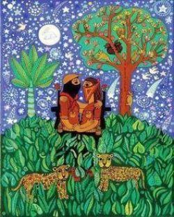 Una pintura de Beatriz Aurora